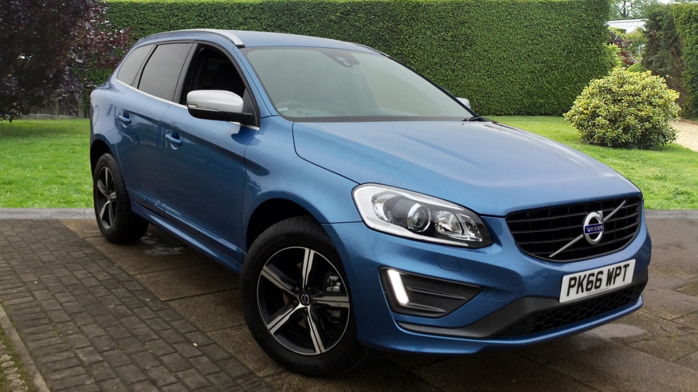 Volvo XC60 D5 [220] R DESIGN Lux Nav AWD Geartronic with Leather and Sat Nav 2.4 Diesel Automatic 5 door 4x4 (2016) image