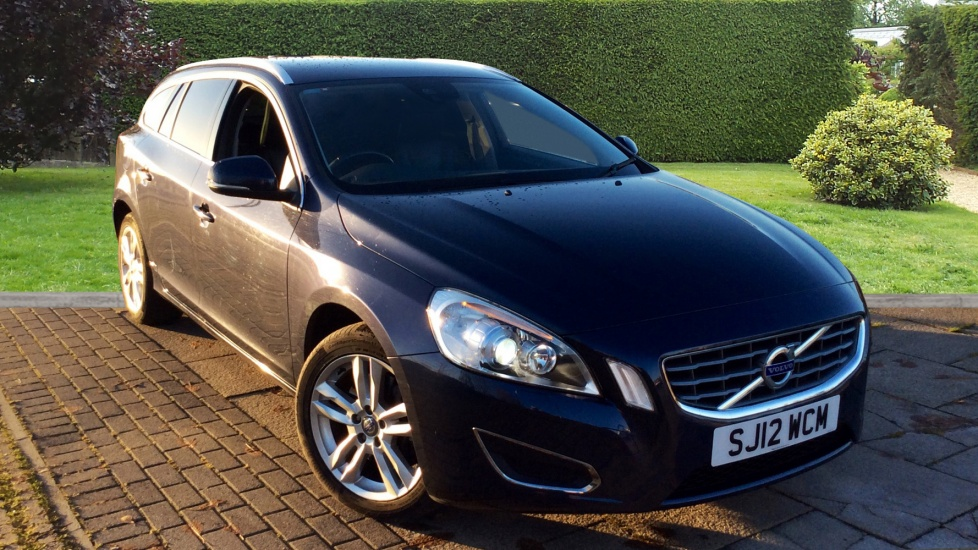 Volvo V60 D5 [215] AWD SE Lux Geartronic with Leather and 17in Balder Alloys 2.4 Diesel Automatic 5 door Estate (2012) image