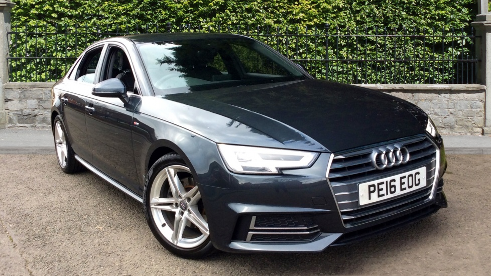 Audi A4 2.0 TDI S Line 4dr with Sat Nav and Parking Sensors Diesel Saloon (2016) image