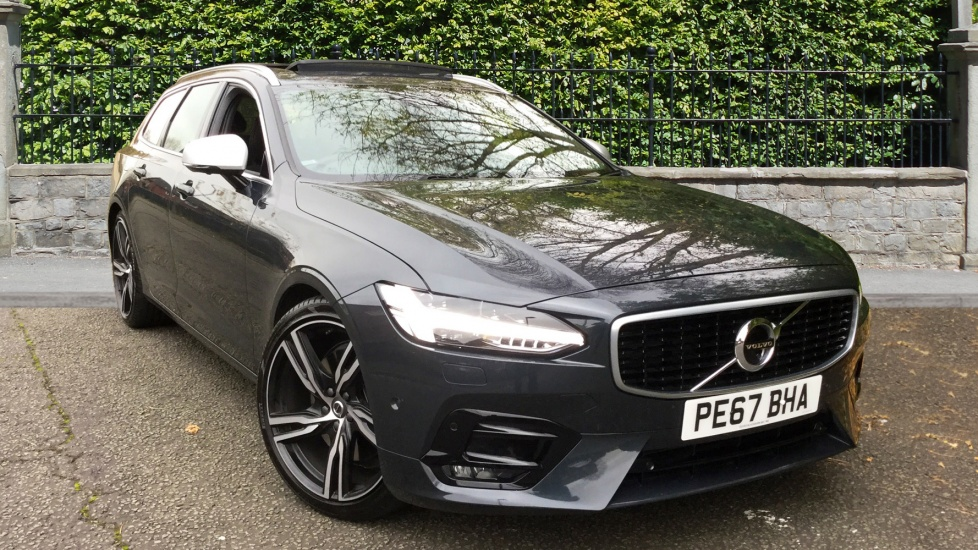 Volvo V90 2.0 D5 PowerPulse R DESIGN 5dr AWD Geartronic with 20inch Alloy, Xenium & Family Packs Diesel Automatic Estate (2017) image