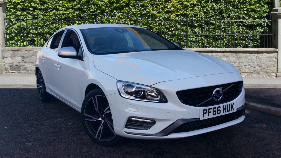 Volvo S60 D4 [190] R DESIGN Lux Nav with Park Pilot and Winter Pack 2.0 Diesel 4 door Saloon (2016) image