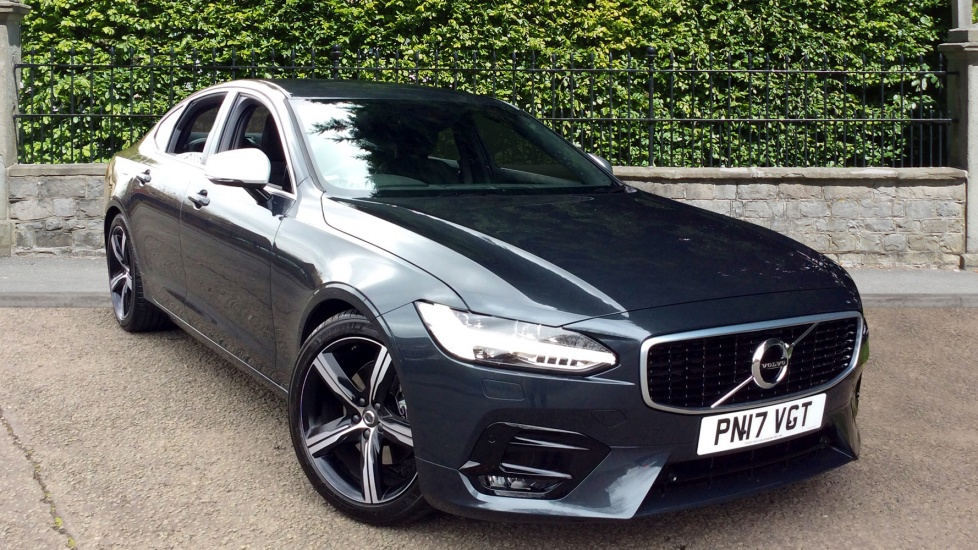 Volvo S90 2.0 D4 190hp Euro 6 R- DESIGN 4dr Auto with Rear Park Assist & Volvo on Call with App Diesel Automatic Saloon (2017) image