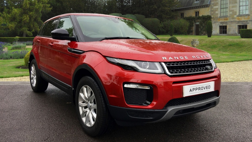 Land Rover Range Rover Evoque 2.0 eD4 SE Tech 5dr 2WD Diesel Estate (2017)