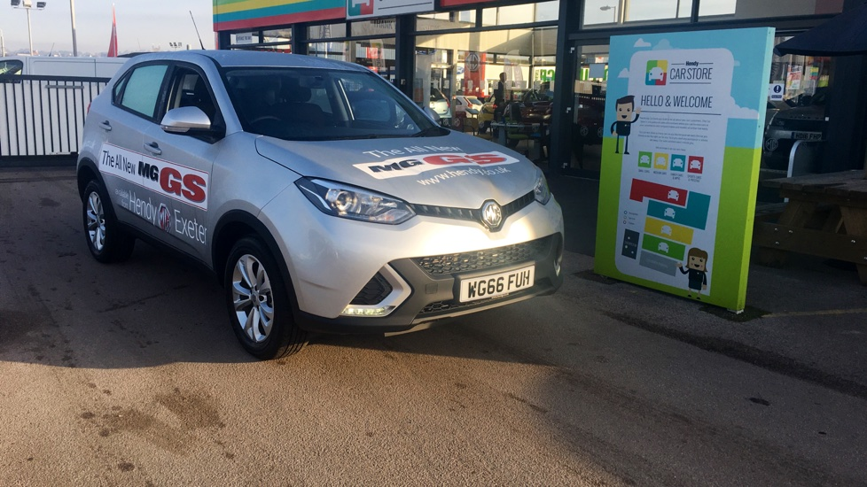2017 (66) Mg Motor Uk GS 1.5 TGI Excite 5dr For Sale In Exeter, Devon